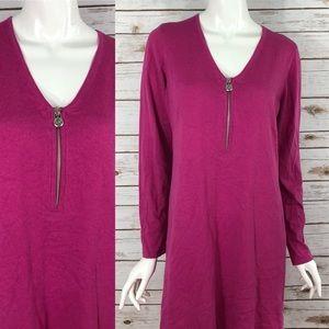MICHAEL Michael Kors Pink Sweater Dress